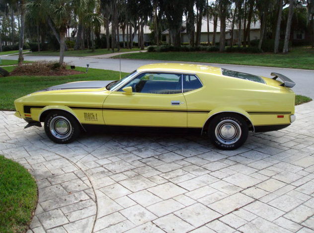 1971 Ford Mustang Mach 1 Fastback 351 CI, 4-Speed presented as lot T68 at Kissimmee, FL 2013 - image8