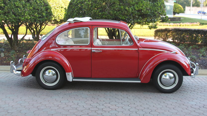 1965 Volkswagen Beetle Ragtop presented as lot T69 at Kissimmee, FL 2013 - image2