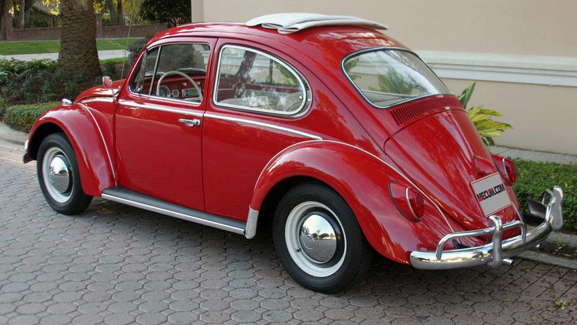 1965 Volkswagen Beetle Ragtop presented as lot T69 at Kissimmee, FL 2013 - image3