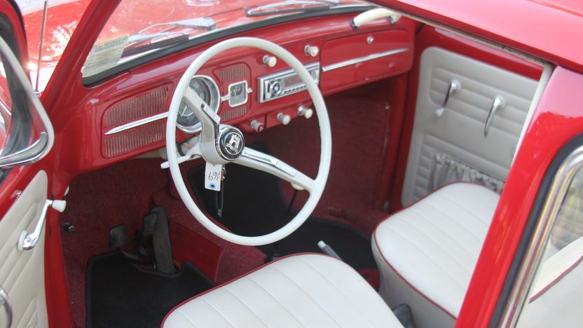 1965 Volkswagen Beetle Ragtop presented as lot T69 at Kissimmee, FL 2013 - image4