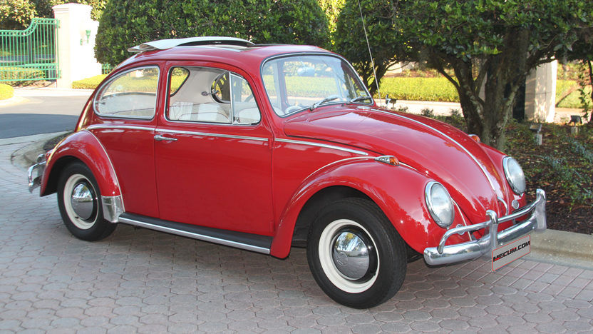 1965 Volkswagen Beetle Ragtop presented as lot T69 at Kissimmee, FL 2013 - image9