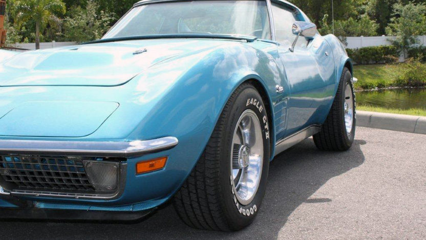 1971 Chevrolet Corvette 454/365 HP, 4-Speed presented as lot T75 at Kissimmee, FL 2013 - image10