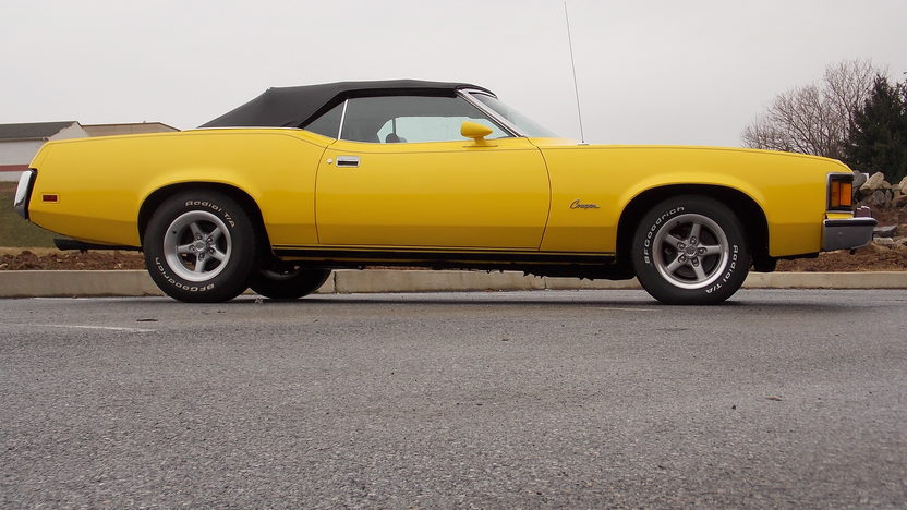1973 Mercury Cougar presented as lot T81 at Kissimmee, FL 2013 - image2