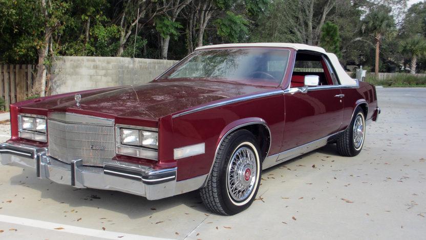 1985 Cadillac Eldorado Convertible 249 CI, Automatic presented as lot T119 at Kissimmee, FL 2013 - image6