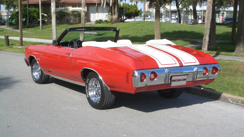 1972 Chevrolet Chevelle Convertible Factory Color Combo presented as lot T145 at Kissimmee, FL 2013 - image2