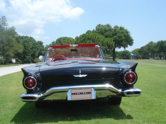1957 Ford Thunderbird Convertible 312/245 HP, Automatic presented as lot T186 at Kissimmee, FL 2013 - image2