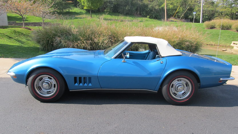 1968 Chevrolet Corvette Convertible 327/300 HP, Automatic presented as lot T210 at Kissimmee, FL 2013 - image2