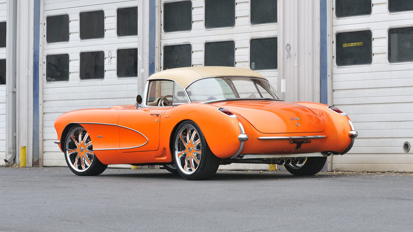 1956 Chevrolet Corvette Resto Mod 283/325 HP, 4-Speed presented as lot T235 at Kissimmee, FL 2013 - image2
