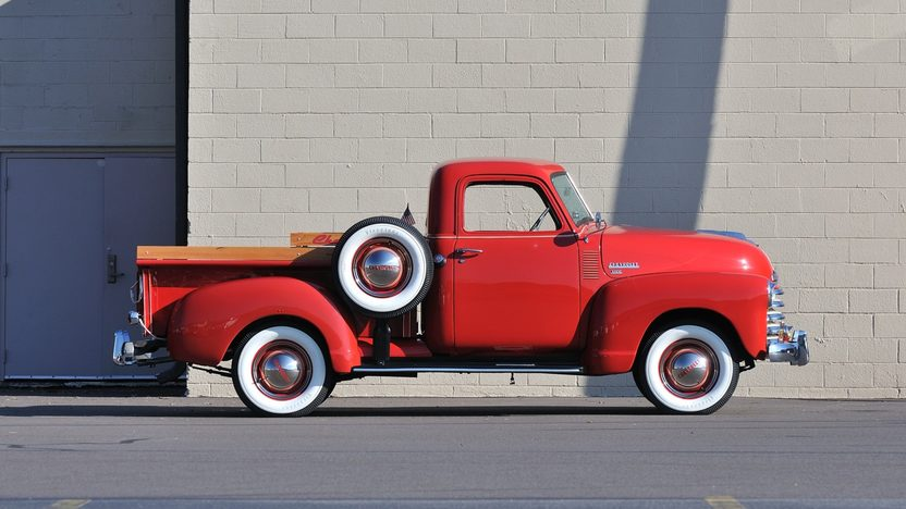 1949 Chevrolet 3100 Pickup 216 CI, 3-Speed, Complete Restoration presented as lot T248 at Kissimmee, FL 2013 - image3