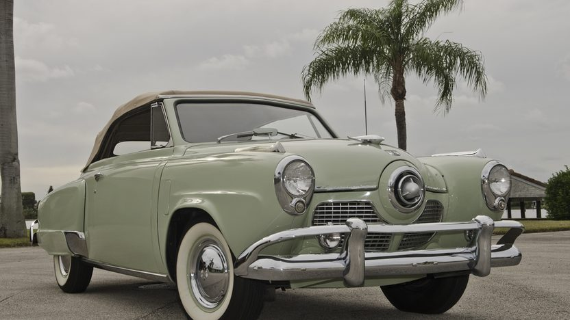 1951 Studebaker Commander Convertible 232 CI, 3-Speed presented as lot T251 at Kissimmee, FL 2013 - image12
