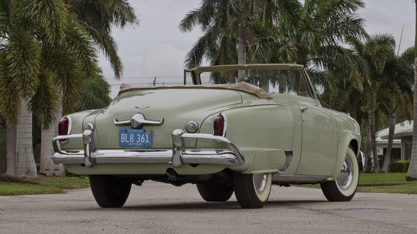 1951 Studebaker Commander Convertible 232 CI, 3-Speed presented as lot T251 at Kissimmee, FL 2013 - image2