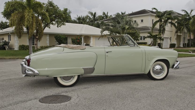 1951 Studebaker Commander Convertible 232 CI, 3-Speed presented as lot T251 at Kissimmee, FL 2013 - image3