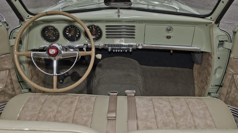 1951 Studebaker Commander Convertible 232 CI, 3-Speed presented as lot T251 at Kissimmee, FL 2013 - image5