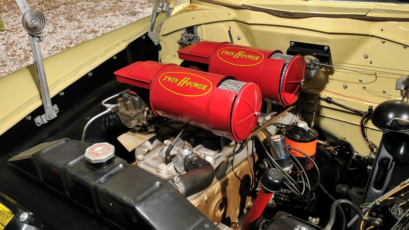 1951 Hudson Hornet Convertible 308 CI, Automatic presented as lot T258 at Kissimmee, FL 2013 - image4