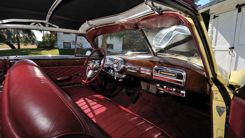 1951 Hudson Hornet Convertible 308 CI, Automatic presented as lot T258 at Kissimmee, FL 2013 - image7