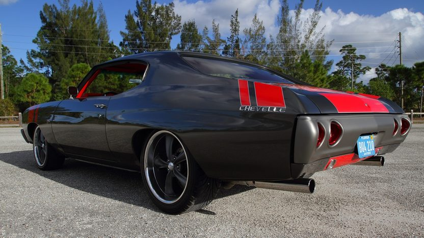 1972 Chevrolet Chevelle Resto Mod 5.7/375 HP, Concept Restoration presented as lot T267 at Kissimmee, FL 2013 - image11