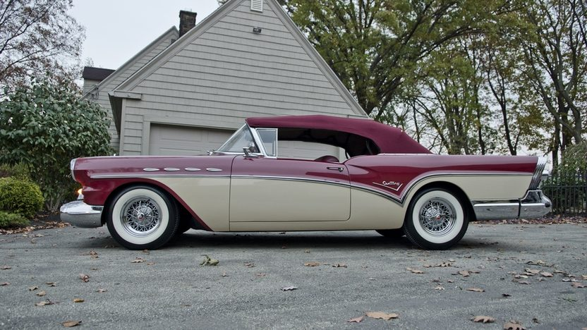 1957 Buick Century Convertible Mecum Kissimmee 2013 T275
