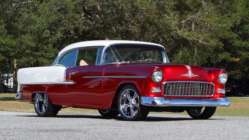 1955 Chevrolet Bel Air Hardtop Mecum Kissimmee 2013 T285