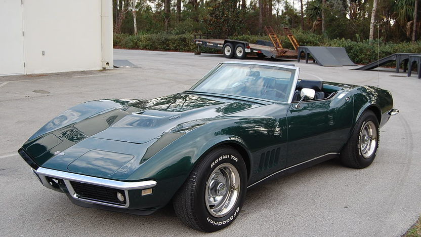 1968 Chevrolet Corvette Convertible 427/390 HP, 4-Speed presented as lot T308 at Kissimmee, FL 2013 - image6