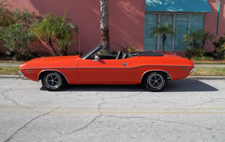 1971 Dodge Challenger Convertible 383 CI, Automatic presented as lot T326 at Kissimmee, FL 2013 - image2