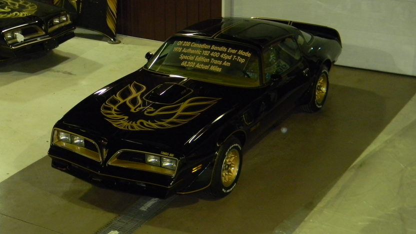 1978 Pontiac Trans Am Bandit 400 CI, 4-Speed presented as lot F19 at Kissimmee, FL 2013 - image7