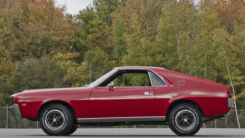 1968 AMC AMX Coupe 390 CI, 4-Speed presented as lot F307 at Kissimmee, FL 2013 - image12