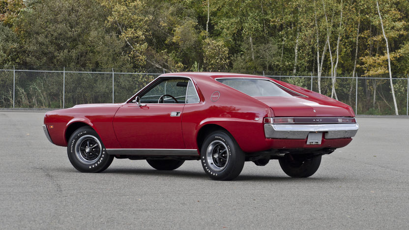1968 AMC AMX Coupe 390 CI, 4-Speed presented as lot F307 at Kissimmee, FL 2013 - image2