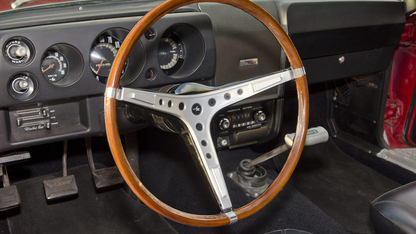1968 AMC AMX Coupe 390 CI, 4-Speed presented as lot F307 at Kissimmee, FL 2013 - image3