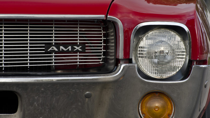 1968 AMC AMX Coupe 390 CI, 4-Speed presented as lot F307 at Kissimmee, FL 2013 - image9