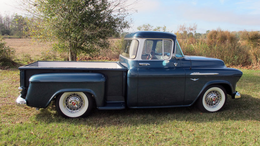 1957 Chevrolet Step Side Resto Mod Pickup LS1, Automatic presented as lot F22 at Kissimmee, FL 2013 - image2