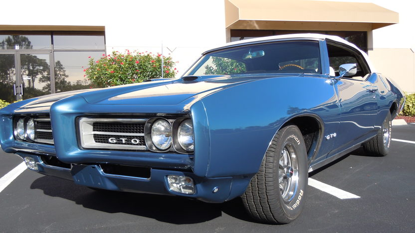 1969 Pontiac GTO Convertible 400 CI, Automatic presented as lot F23 at Kissimmee, FL 2013 - image6