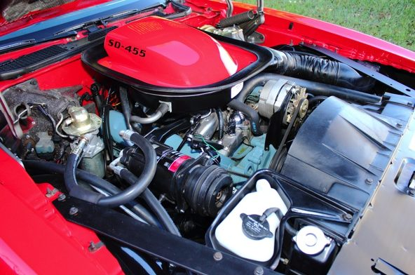 1974 Pontiac Trans Am Super Duty 455/310 HP, Automatic presented as lot F44 at Kissimmee, FL 2013 - image6