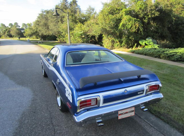 1974 Plymouth Duster 360 CI, Rotisserie Restoration presented as lot F61 at Kissimmee, FL 2013 - image2