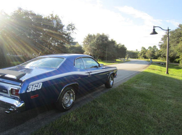 1974 Plymouth Duster 360 CI, Rotisserie Restoration presented as lot F61 at Kissimmee, FL 2013 - image6