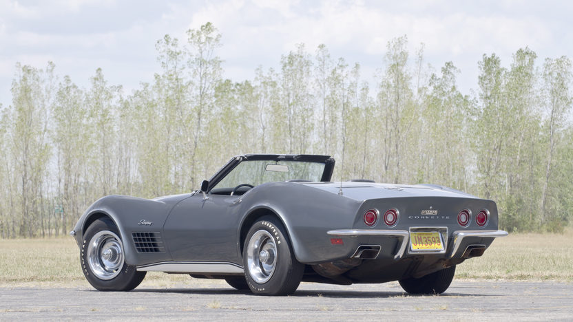 1970 Chevrolet Corvette LT1 Convertible Bloomington Gold Survivor presented as lot F98 at Kissimmee, FL 2013 - image3