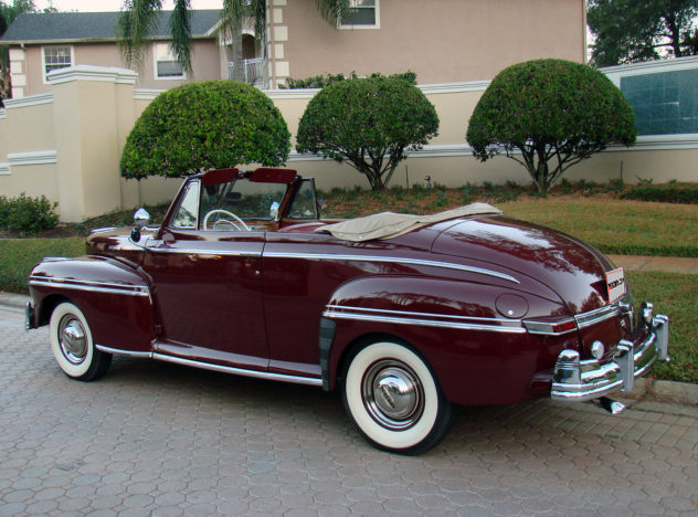 1948 Mercury Convertible presented as lot F107 at Kissimmee, FL 2013 - image2