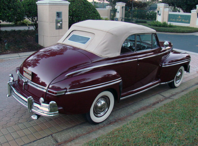 1948 Mercury Convertible presented as lot F107 at Kissimmee, FL 2013 - image9