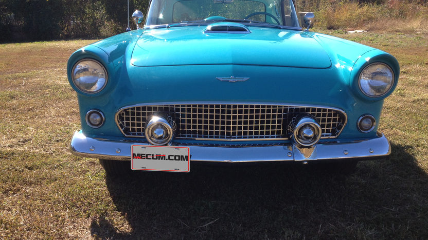 1956 Ford Thunderbird Convertible 312 CI, 2012 CTCI Gold presented as lot F111 at Kissimmee, FL 2013 - image5