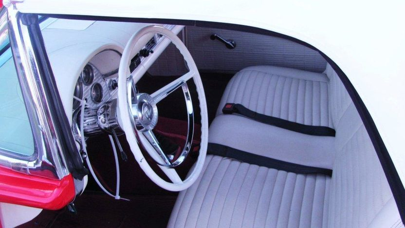 1957 Ford Thunderbird 312 CI presented as lot F121 at Kissimmee, FL 2013 - image3