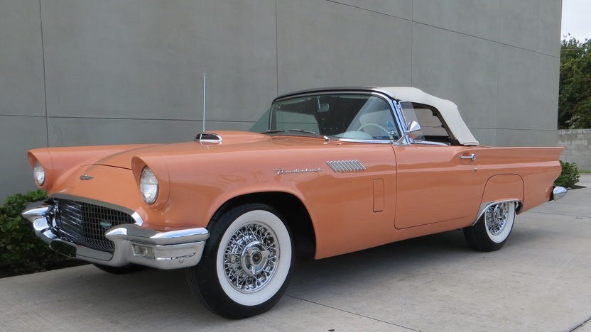 1957 Ford Thunderbird Convertible 312/245 HP, Automatic presented as lot F124 at Kissimmee, FL 2013 - image12