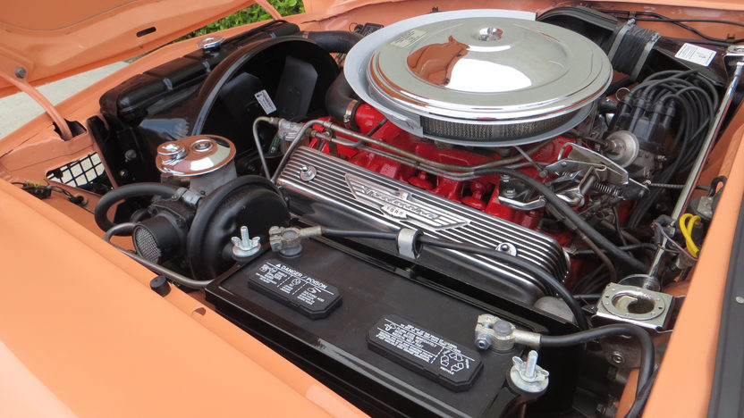 1957 Ford Thunderbird Convertible 312/245 HP, Automatic presented as lot F124 at Kissimmee, FL 2013 - image7