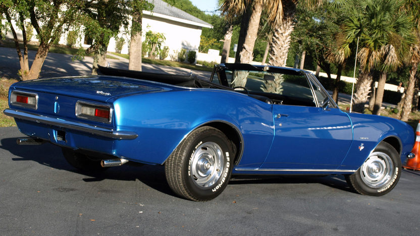 1967 Chevrolet Camaro Convertible 327 CI, Automatic presented as lot F129 at Kissimmee, FL 2013 - image6