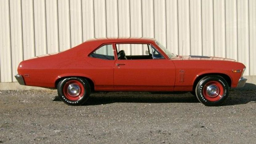 1969 Chevrolet Nova 396 CI, 4-Speed presented as lot F160 at Kissimmee, FL 2013 - image2