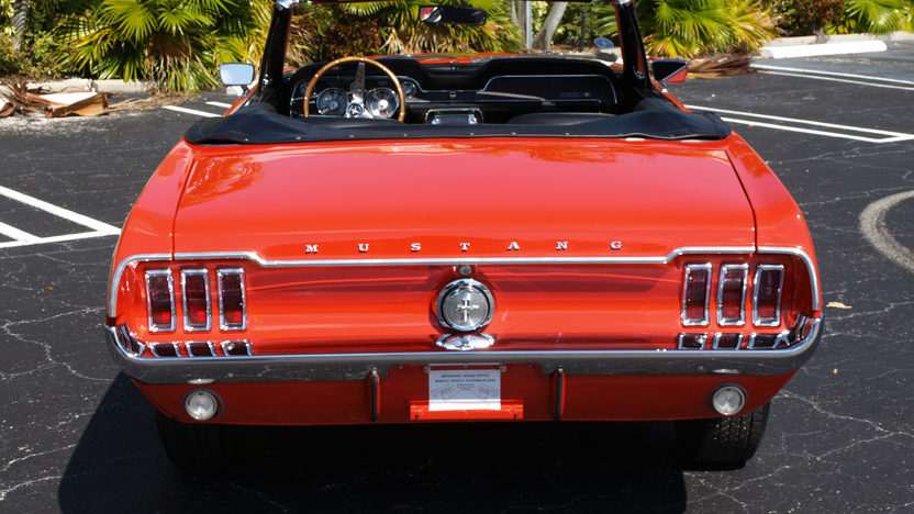 1967 Ford Mustang Convertible 289 CI, Automatic presented as lot F162 at Kissimmee, FL 2013 - image5