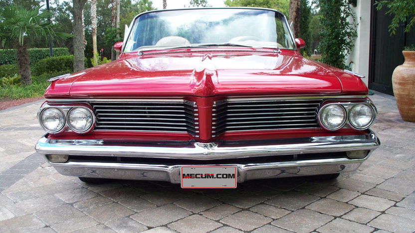 1962 Pontiac Catalina Convertible 400/365 HP, Automatic presented as lot F172 at Kissimmee, FL 2013 - image3