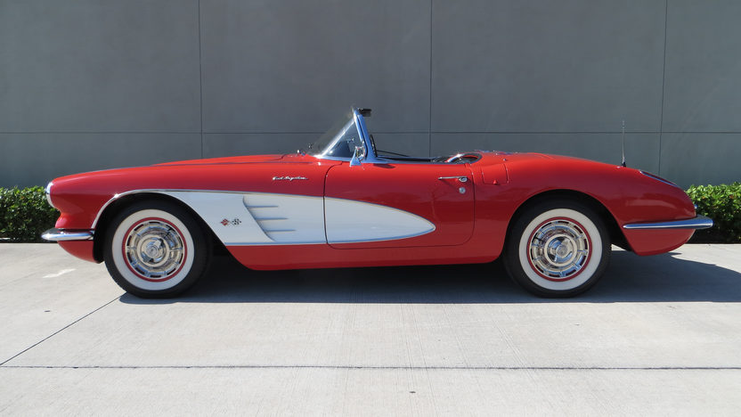 1960 Chevrolet Corvette Convertible 283/250 HP, 4-Speed presented as lot F177 at Kissimmee, FL 2013 - image2