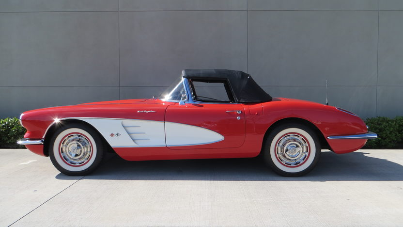 1960 Chevrolet Corvette Convertible 283/250 HP, 4-Speed presented as lot F177 at Kissimmee, FL 2013 - image9