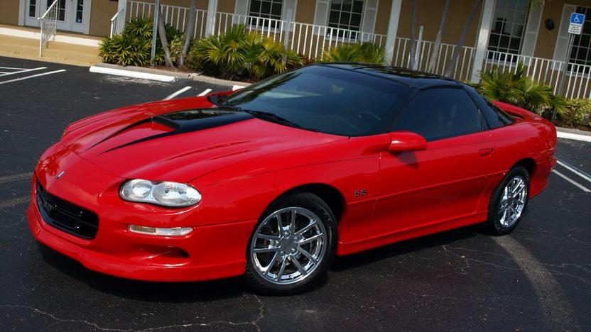 2001 Chevrolet Camaro SS SLP 350/415 HP presented as lot F193 at Kissimmee, FL 2013 - image2