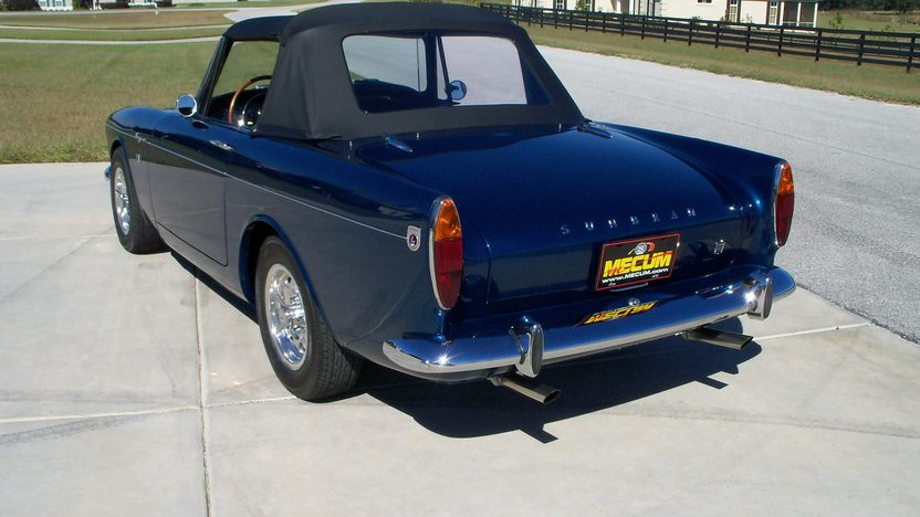1966 Sunbeam Tiger Convertible 289 CI, 4-Speed, LAT Wheels presented as lot F205 at Kissimmee, FL 2013 - image2