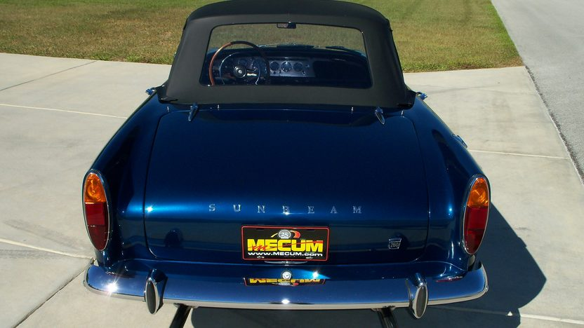 1966 Sunbeam Tiger Convertible 289 CI, 4-Speed, LAT Wheels presented as lot F205 at Kissimmee, FL 2013 - image6